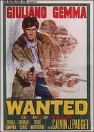 Wanted - Italian Movie Poster (xs thumbnail)