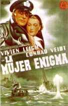 Dark Journey - Spanish Movie Poster (xs thumbnail)