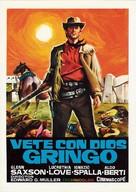Vaya con dios gringo - Spanish Movie Poster (xs thumbnail)
