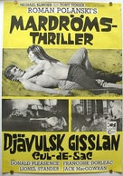 Cul-de-sac - Swedish Movie Poster (xs thumbnail)
