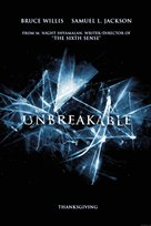 Unbreakable - Movie Poster (xs thumbnail)