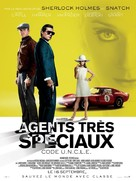 The Man from U.N.C.L.E. - French Movie Poster (xs thumbnail)