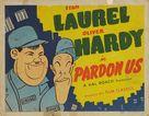 Pardon Us - Re-release poster (xs thumbnail)