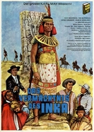 Das Vermächtnis des Inka - German Movie Poster (xs thumbnail)