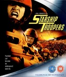 Starship Troopers - British Blu-Ray movie cover (xs thumbnail)