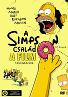 The Simpsons Movie - Hungarian DVD movie cover (xs thumbnail)