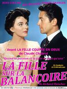 The Girl in the Red Velvet Swing - French Movie Cover (xs thumbnail)