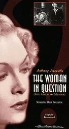 The Woman in Question - VHS cover (xs thumbnail)