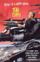 Tank Girl - German VHS movie cover (xs thumbnail)