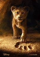 The Lion King - Czech Movie Poster (xs thumbnail)