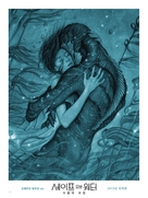 The Shape of Water - South Korean Movie Poster (xs thumbnail)