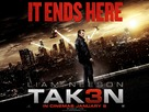 Taken 3 - British Movie Poster (xs thumbnail)