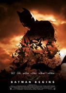 Batman Begins - Norwegian Movie Poster (xs thumbnail)