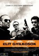 Killer Elite - Hungarian Movie Poster (xs thumbnail)