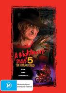 A Nightmare on Elm Street: The Dream Child - Australian DVD movie cover (xs thumbnail)