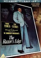 The Razor's Edge - British Movie Cover (xs thumbnail)