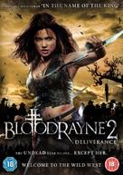 Bloodrayne 2 - British DVD movie cover (xs thumbnail)