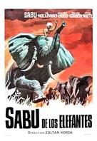 Elephant Boy - Spanish Movie Poster (xs thumbnail)