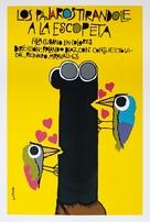 Los pájaros tirándole a la escopeta - Cuban Movie Poster (xs thumbnail)