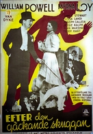 After the Thin Man - Swedish Movie Poster (xs thumbnail)