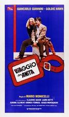 Viaggio con Anita - Italian Movie Poster (xs thumbnail)