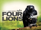 Four Lions - British Movie Poster (xs thumbnail)