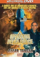 Operation Delta Force 3: Clear Target - British Movie Cover (xs thumbnail)