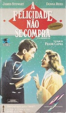 It's a Wonderful Life - Brazilian VHS movie cover (xs thumbnail)