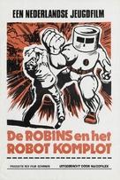 De Robins en het Robot komplot - Dutch Movie Poster (xs thumbnail)