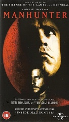 Manhunter - British VHS movie cover (xs thumbnail)