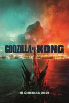 Godzilla vs. Kong - British Movie Poster (xs thumbnail)