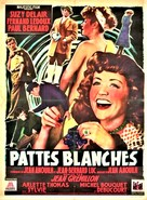 Pattes blanches - French Movie Poster (xs thumbnail)