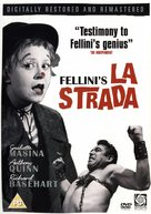 La strada - British DVD cover (xs thumbnail)