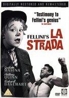 La strada - British DVD movie cover (xs thumbnail)
