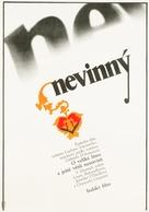 L'innocente - Czech Movie Poster (xs thumbnail)
