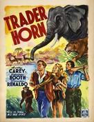 Trader Horn - Belgian Movie Poster (xs thumbnail)