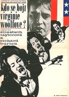Who's Afraid of Virginia Woolf? - Czech Movie Poster (xs thumbnail)