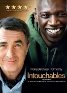 Intouchables - Canadian DVD cover (xs thumbnail)