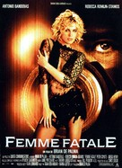 Femme Fatale - French Movie Poster (xs thumbnail)