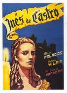 Inês de Castro - Spanish Movie Poster (xs thumbnail)