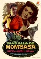 Beyond Mombasa - Spanish Movie Poster (xs thumbnail)
