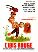 L'Ibis rouge - French Movie Poster (xs thumbnail)