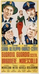 Guardia, guardia scelta, brigadiere e maresciallo - Italian Theatrical poster (xs thumbnail)