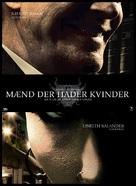 Män som hatar kvinnor - Danish Movie Poster (xs thumbnail)