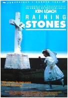 Raining Stones - Swedish Movie Poster (xs thumbnail)