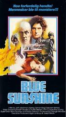 Blue Sunshine - Norwegian VHS cover (xs thumbnail)