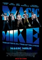 Magic Mike - Argentinian Movie Poster (xs thumbnail)