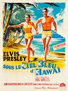 Blue Hawaii - French Movie Poster (xs thumbnail)