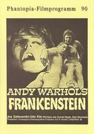 Flesh for Frankenstein - German poster (xs thumbnail)