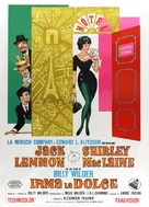 Irma la Douce - Italian Movie Poster (xs thumbnail)